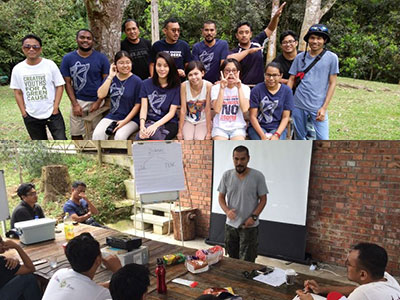 EcoKnights' First Ever Retreat @ The Plantation, Karak, Pahang.