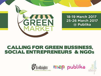 Register now to be in the Green Market