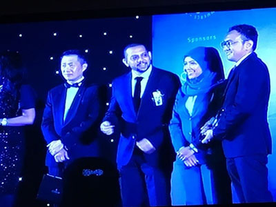 EcoKnights Awarded for Social Innnovation at the Malaysia Business Awards 2017