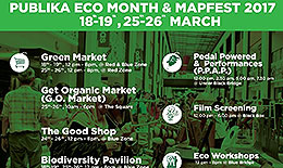 ECOKNIGHTS ORGANISED ECO MONTH IN conjunction WITH MAPFEST AT PUBLIKA SHOPPING GALLERY