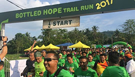 PERNOD RICARD MALAYSIA BOTTLED HOPE TRAIL RUN & TREE PLANTING WITH ECOKNIGHTS AT MELAKA