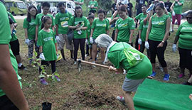 PERNOD RICARD MALAYSIA BOTTLED HOPE TRAIL RUN & TREE PLANTING WITH ECOKNIGHTS AT SERDANG