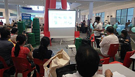 ECOKNIGHTS CONDUCTED BACKYARD COMPOSTING WORKSHOP AT SUNWAY GEO