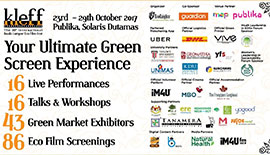 KLEFF 2017: REGISTRATION FOR SUSTAINABILITY FORUM SERIES, TALKS & WORKSHOPS AND ECO FILM SCREENINGS IS OPEN!