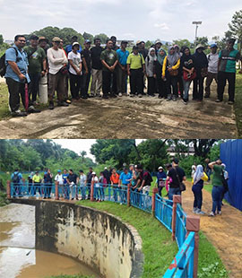 Sungai Bunus Committee Stakeholders Visits River to Assess and Learn About Challenges of Sungai Bunus