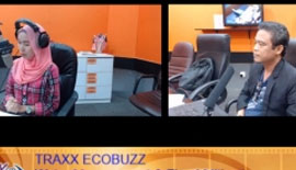 Vice President of EcoKnights, Amlir Ayat was on TRAXX ECOBUZZ discussing Water Management and Flood Mitigation