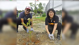EcoKnights and Repsol Oil & Gas Malaysia Volunteer Programme in Sungai Bunus