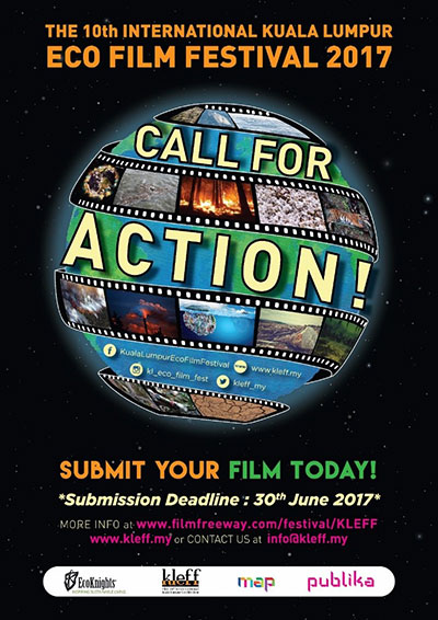 The 10th International Kuala Lumpur Eco Film Festival is now calling for Entries!!