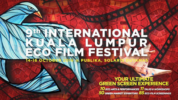 Official Video Of The 9th Interational Kuala Lumpur Eco Film Festival (KLEFF) 2016.