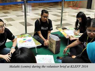 Check Out What Our Previous Intern, Malathi Has To Say About KLEFF!