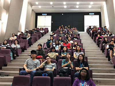 Nothing Can Stop KLEFF Road Show At KDU!
