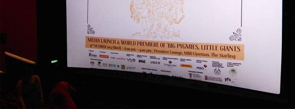 KLEFF 2017 Media Launch and Premier Screening of Big Pygmies Little Giants