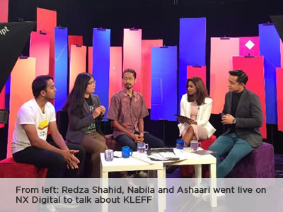 NX Digital Interview with Nabila Shohimi, Ashaari Rahmat and Redza Shahid