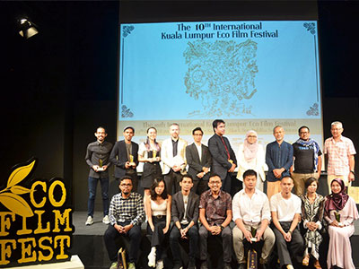 10th International Kuala Lumpur Eco Film Festival Award Winners Announced at Ceremony