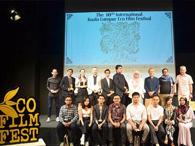 10th International Kuala Lumpur Eco Film Festival Award Winners Announced at Ceremony