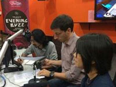 KLEFF on News - BFM89.9 Traxx FM Interview with Mok Yi Ying, Ashaari Rahmat, and Stefano Savi