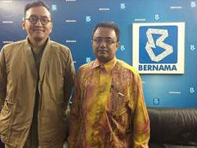 KLEFF on News – Bernama News Channel, Program NineEleven Interview with Fadly Bakhtiar and Dr. Shaikh Mohd Saifuddeen on Environmental Films and KLEFF Highlights