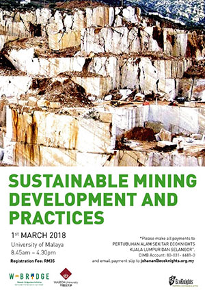 Symposium: Sustainable Mining Development and Practices