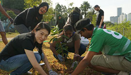 Tree-planting Together with edotco Group Sdn Bhd