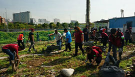 Project River Of Life (ROL) – Green Outreach Program at Perumahan Awam Rumah Panjang Ikan Emas