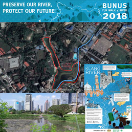 Bunus Fun Walk 4 River 2018 (World River's Day)
