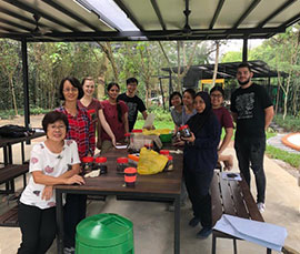 Composting in the Nature: Garbage to Garden Workshop at Taman Tugu