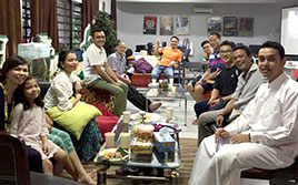 Raya Open House with SCKLM Charity Runners