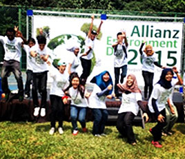 ALLIANZ and EcoKnights Celebrates The Environment In Allianz'S 125th Anniversary Celebration At The Forest Research Institute Of Malaysia (FRIM)