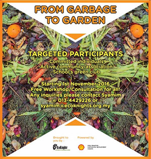 Garbage To Garden Composting Project: Powered by SHELL