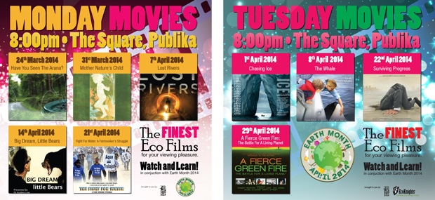 Monday and Tuesday Movies at Publika
