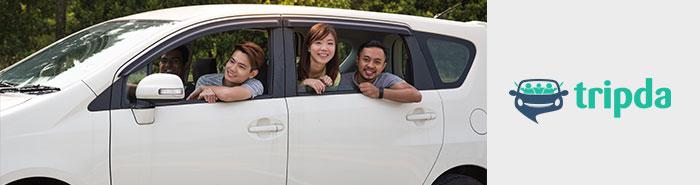 Carpool to KLEFF with Tripda Malaysia
