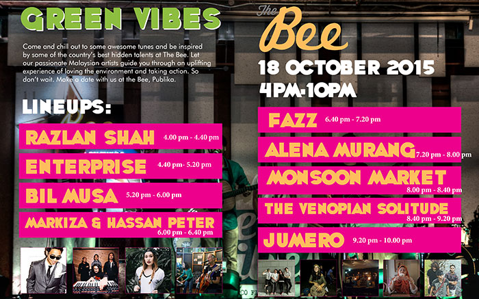 Green vibes at The Bee