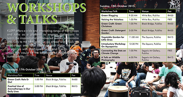 Workshops & Talks
