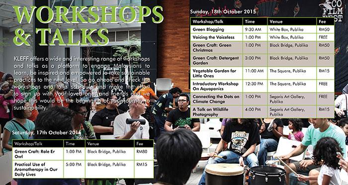 Workshops & Talks